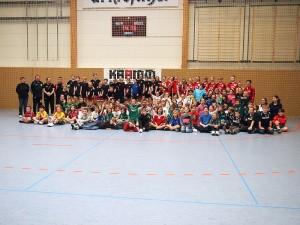 Gruppenbild Weihnachtsturnier in Naunhof 2013