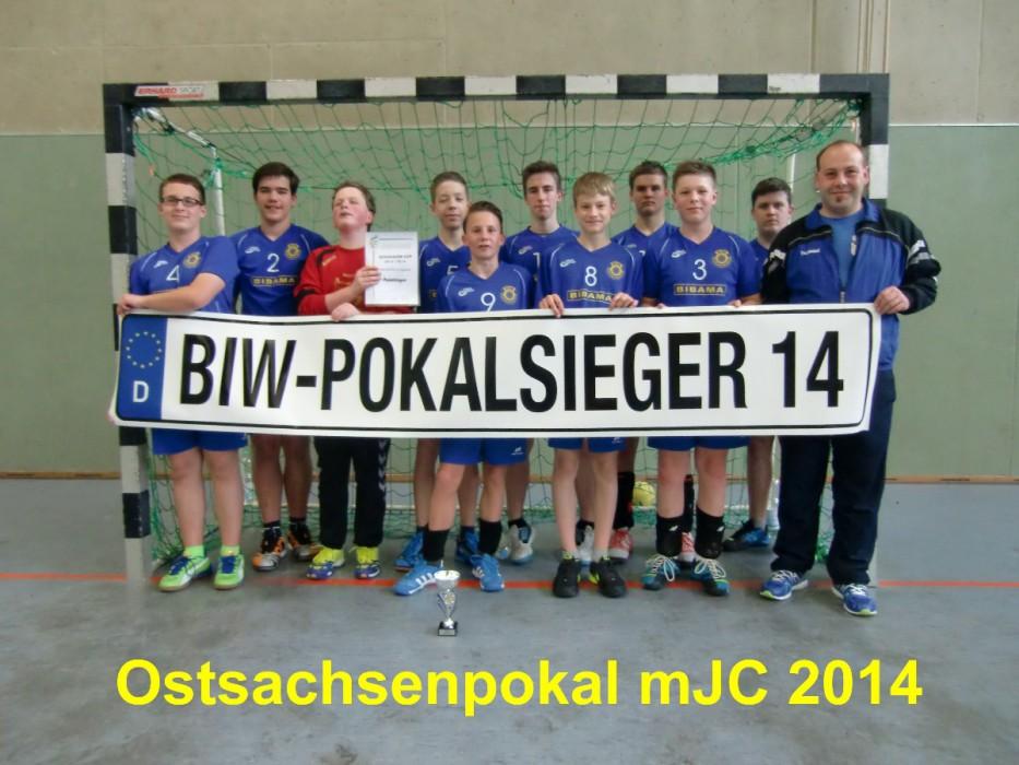 Ostsachsenpokalgewinner 2014