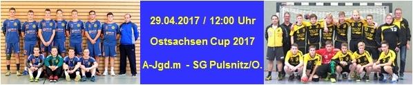 Ostsachsenmeisterschaft der AJm am 29.04.2017 im WSP