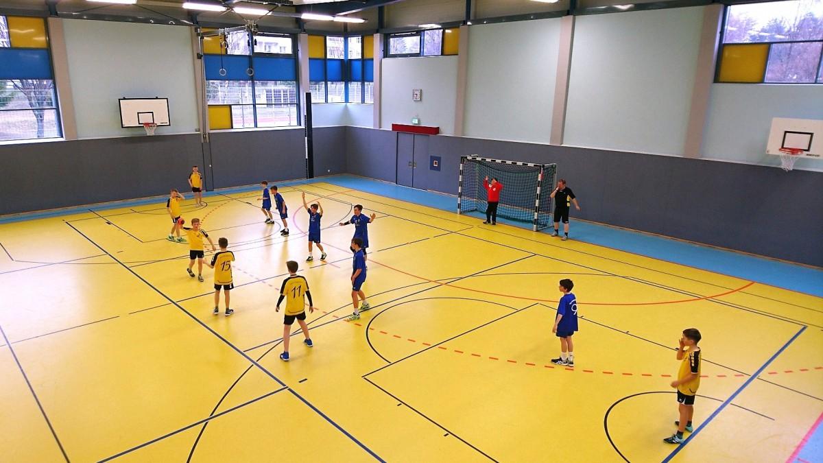 Spiel gegen den TBSV Neugersdorf